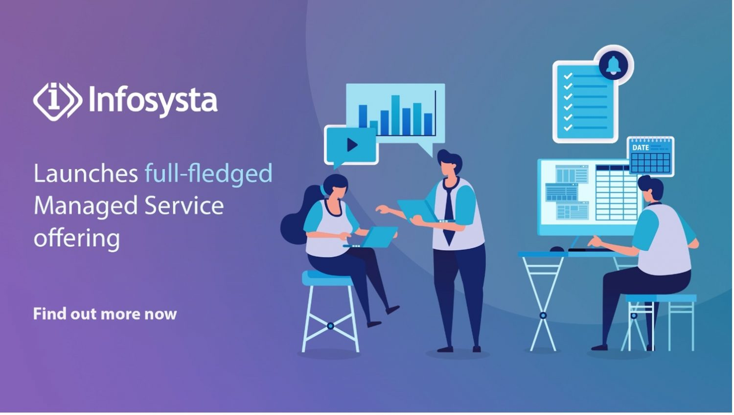We are proud to share with you our latest Managed Service offering, with our ever-growing client base the need for continuous support became more and more of a reality